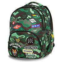 a17df78baf75 Cool Pack Badges Bentley Camo hátizsák laptoptartóval - 30 literes -  terepszínű Green