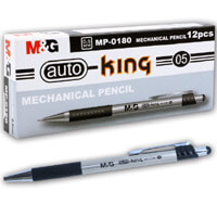 M&G Auto-King 0,5 töltőceruza - AMP01801 - ezüst/fekete