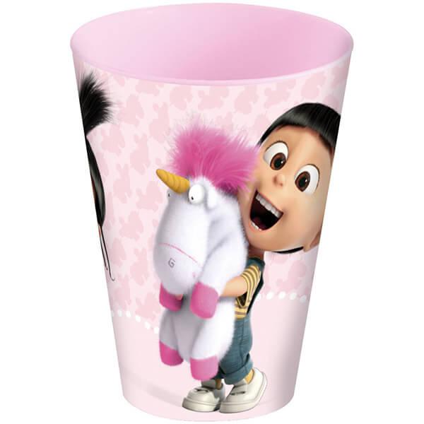 Gyerek Disney mintás - Minions - Ágnes és egyszarvú műanyag pohár ... 4fdaf77db6